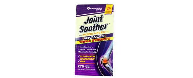 Vitamin World Advanced Triple Strength Joint Soother Review